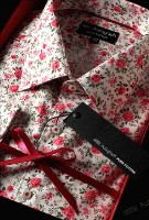 Marks and Spencer pink shirt-
